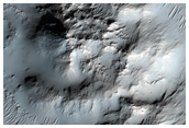 Extremely Rough Topography in Crater Interior