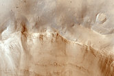 Crater in Mawrth Vallis Region