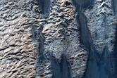 Possible Sulfate in Tithonium Chasma