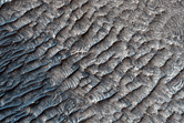 Contact of Polyhydrated Sulfate on West Candor Chasma Floor with Wall