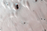 Northern Spring Monitor Site with Known Multi-Toned Defrost Spots