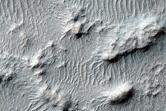 Deposit on Crater Floor in Margaritifer Region