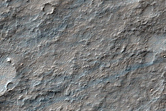 Valley Related to a Ridge in Solis Planum