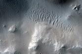 Lobate Deposit at Base of Olympus Mons Scarp