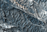 Contact between Differing Mineralogies in West Candor Chasma
