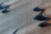 Dunes and Polygons