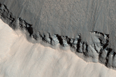 Fresh Double-Layered Ejecta Crater