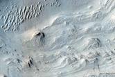 Layered Deposits in Crater in Arabia Terra