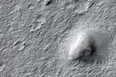 Light-Toned Material West of Gale Crater