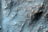 Small Mesas in Candor Chasma