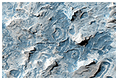 Etched Terrain in the Meridiani Region