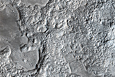 Dissected Mantle Terrain in Northern Arabia Region