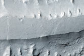 Inverted Channel and Yardangs in Aeolis Mensae