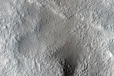 Sample of Trough and Gullies in Viking 1 Image 268S06