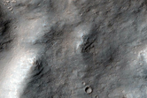 Channel Going Into Gale Crater