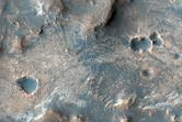 Landforms in Mawrth Vallis Region