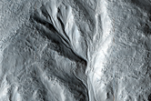 Equator-Facing Slope with Gullies