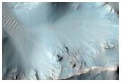 Large Central Peak of Impact Crater in Tyrrhena Terra