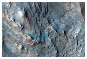 Layered Fan in Runanga Crater
