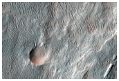 Possible MSL Landing Site in Holden Crater