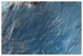 Terrain East of Holden Crater