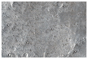 Ray Segment Originating from Corinto Crater