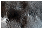 Central Peak of a Large Impact Crater