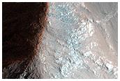 Possible Megabreccia in Coprates Chasma Center