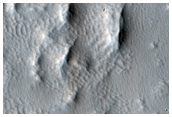 Change Detection of Aeolilan Processes Near Arsia Mons