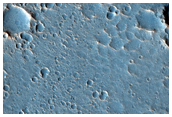 Terminus of Flow Lobe Up Mouth of Ares Vallis