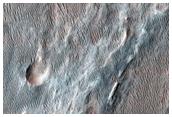 Possible MSL Landing Site in Holden Crater