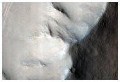 Proposed MSL Landing Site in Gale Crater