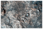 Possible MSL Rover Mawrth Region 2 Landing Site