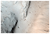Unusual and Pristine Crater Morphology