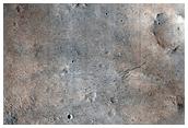 Brazos Region Basin Southeast of Schiaparelli Crater
