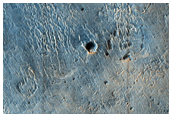 Flow Front and Embayment Relations in West Meridiani Planum