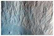 Potential Currently-Active Gullies in Fresh Crater