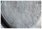 Nilosyrtis Dichotomy Boundary Scarp or Crater