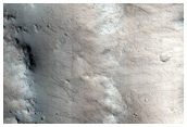 Crater in Tharsis Region