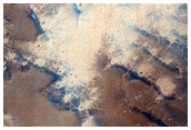 Jeans Crater Dune Field Seasonal Monitoring