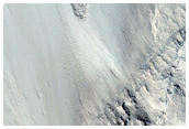 Alcove in East Candor Chasma Layered Deposits