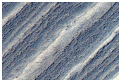 Exposure of South Polar Layered Deposits with Minor Faulting