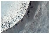 Well-Preserved 1 Kilometer Diameter Impact Crater