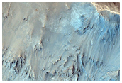 Flow Ejecta of Prominent Crater in Meridiani Planum
