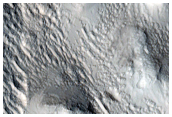 Pavonis Mons Northern Flank Deposits