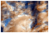 Jeans Crater with Seasonal Haloes and Fractal Patterns