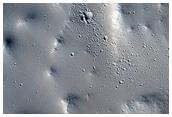 Lobate Landform Below Western Basal Scarp of Olympus Mons