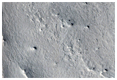 Knobby Ridges in Meridiani Planum