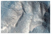 Eroded Layers in Northeast Gale Crater with Possible Sulfates