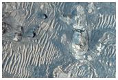 Blocky Floor Deposit in Melas Chasma